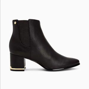 Calvin Klein ankle boots Fioranna black leather